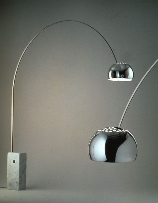ARCO  Floor lamp  1962 Design: Achille and Pier Giacomo Castiglioni  1962 Production: Flos