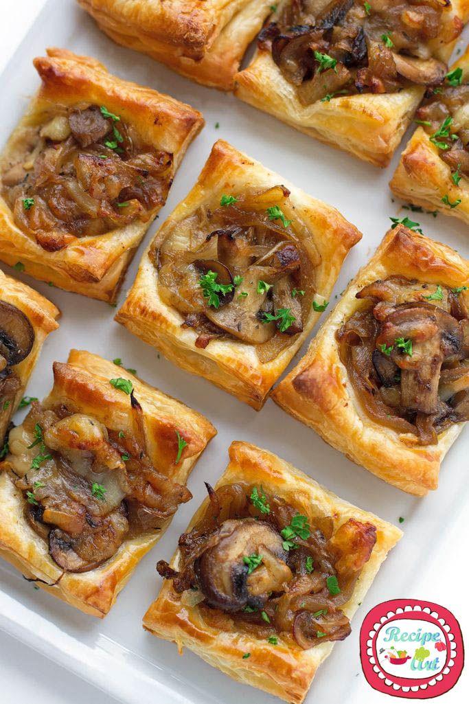 Le mini quiche ai funghi che vi proponiamo sono facili da fare e perfette da servire ai party!