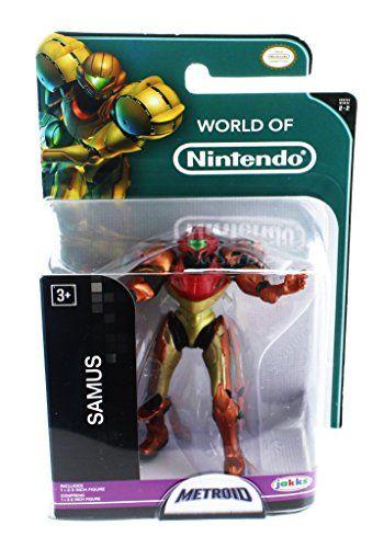 World of Nintendo Metroid Samus Aran Mini Figure: World of Nintendo Metroid Samus Aran Mini Figure Cet article World of Nintendo Metroid…