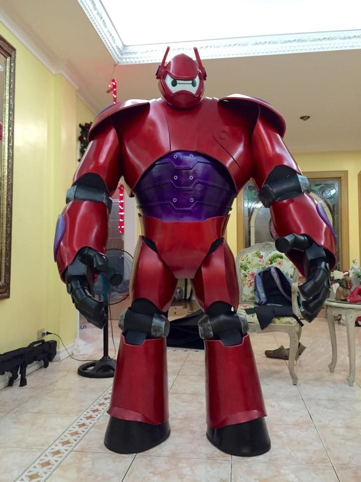 Big Hero 6 - Baymax Cosplay Made by Pablo Bairan, Guy Singzon, and Roy Bolido with help from AC Hernandez Photo Credits: Tanya Bairan