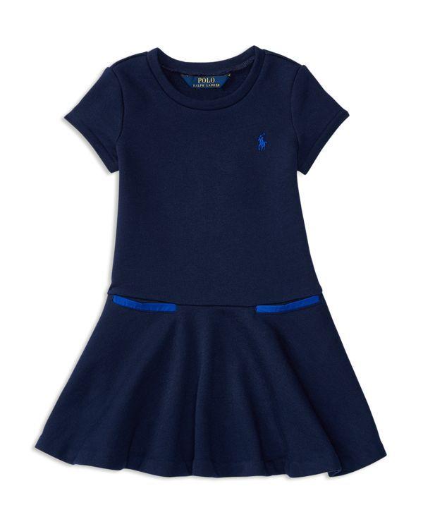 Ralph Lauren Childrenswear Girls' Drop Waist Dress - Sizes 2-6X