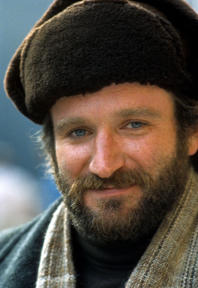 """Never fight with an ugly person, they've got nothing to lose."" Robin Williams"