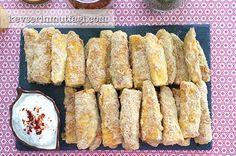 Fırında Çıtır Kabak Dilimleri Tarifi - Malzemeler : 2 adet orta boy kabak, 1 yumurta, 1 su bardağı un, 1 su bardağı galeta unu, 2 yemek kaşığı parmesan rendesi, Tuz.