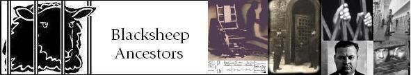 Black Sheep Ancestors Logo - Directory of Links for Prison & Convict Records, Court Records, Executions, Famous Outlaws, Bandits & Criminals