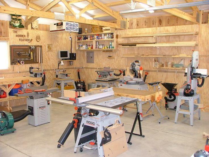Show us your shop page 4 woodworking talk for Garage woodshop plans