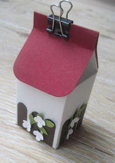 paperqueen: Ein kleines Häuschen...