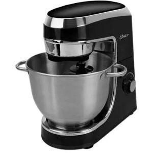 Oster Planetary Stand Mixer is an awesome everyday mixer with one additional special function, i.e. 12-speed control. The speed control makes this stand mixer great for people with varying speed needs. Its advanced features are well suited for a regular baker as well as the keen hobbyist among us.