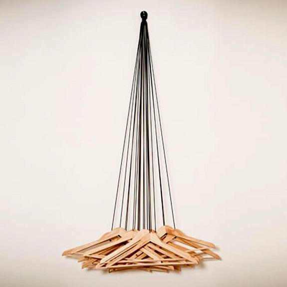 20 Hangers Wardrobe by Alice Rosignoli