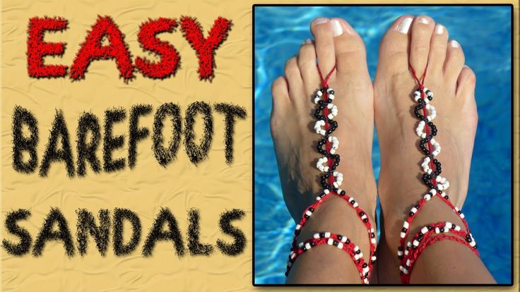 This is an easy step by step tutorial on how to make barefoot sandals. They are fun to wear and they make you feel so pretty. The main things that you will n...