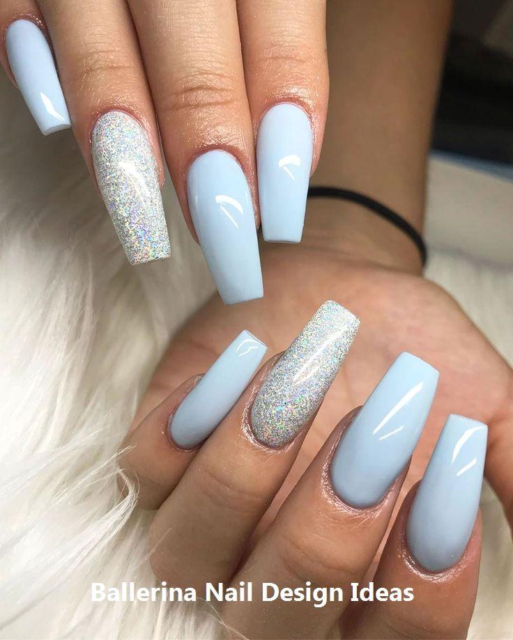 Trendy Ballerina Nail art 2019 nailart
