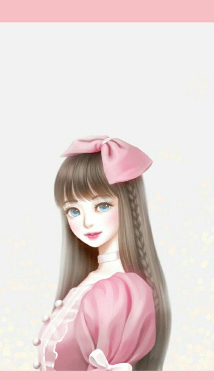 Enakei Cute Girl Wallpaper Cute Art Cute Cartoon Girl