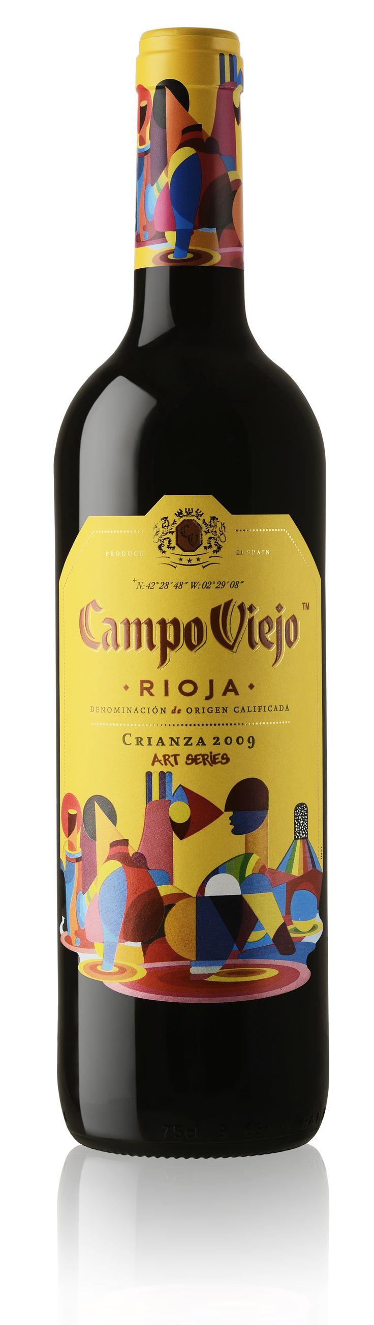 Campo Viejo Crianza 2009 Art Series. PD