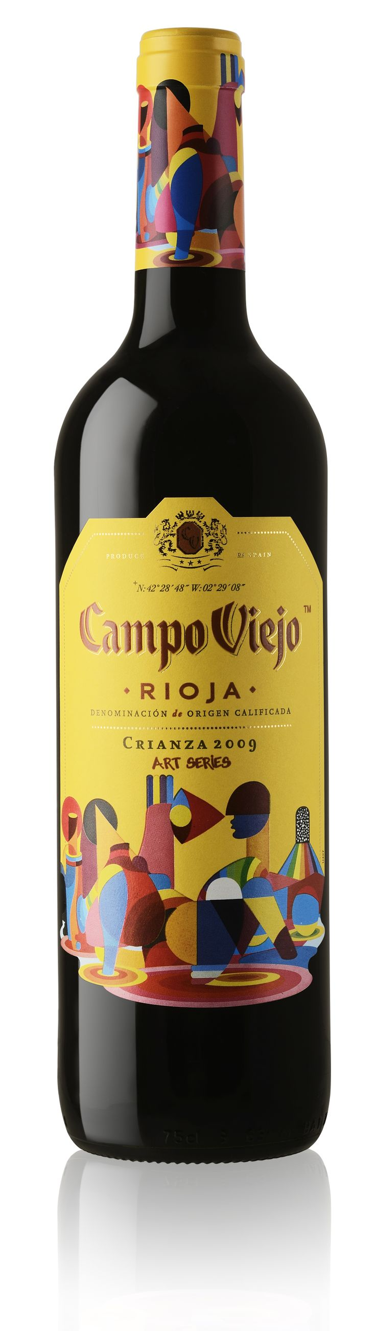 Campo Viejo Crianza 2009 Art Series. PD