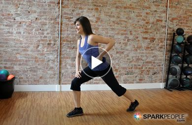 Dumbbell Workout Videos From SparkPeople.com | SparkPeople