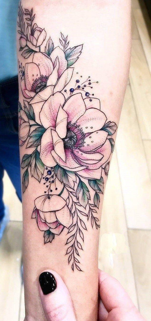 40 Rose Female Tattoos for Inspiration, #Feminine #Inspiring #for #rose #Tattoos