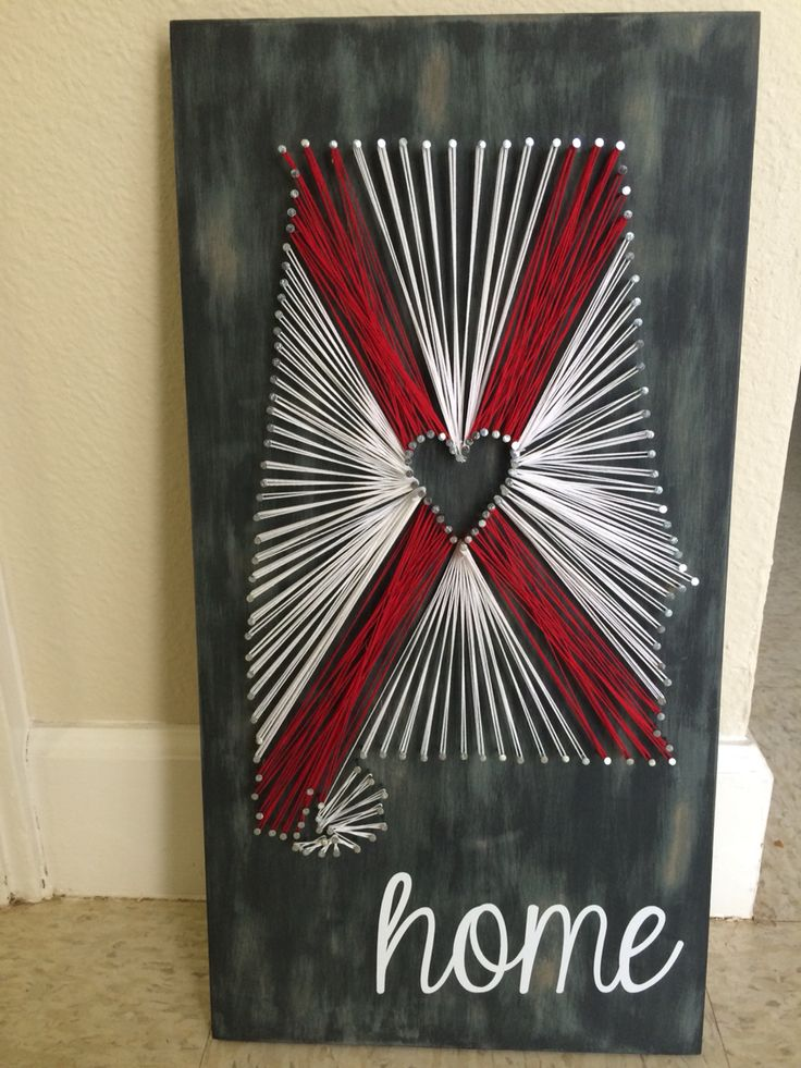 17 best ideas about alabama crafts on pinterest alabama With best brand of paint for kitchen cabinets with alabama football wall art