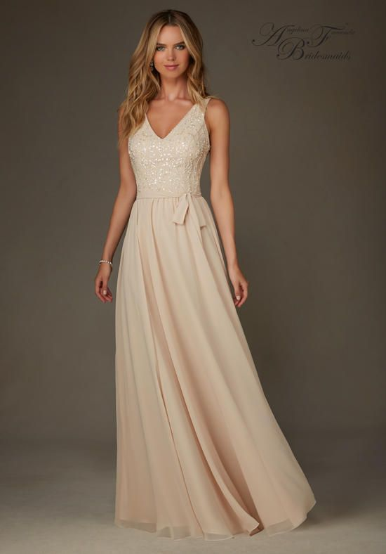Angelina Faccenda Bridesmaids 20472 Bridesmaid Dress photo