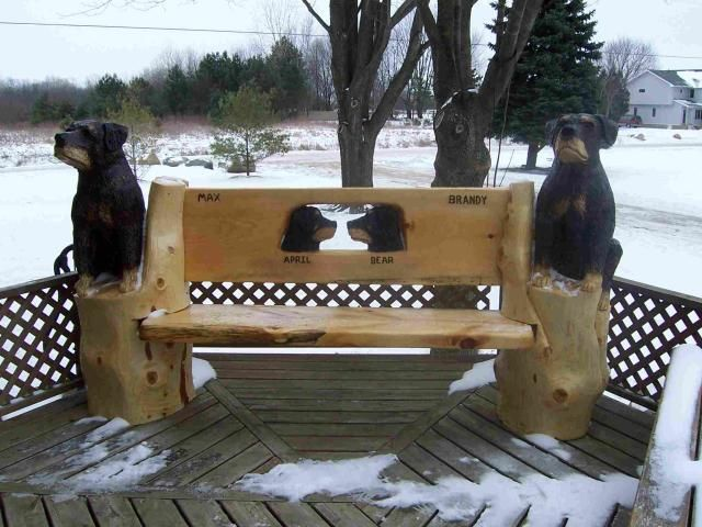 Images about chainsaw benches on pinterest