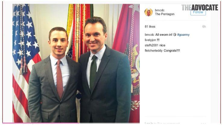 Eric Fanning Sworn in as Army Secretary, Thanks His Boyfriend