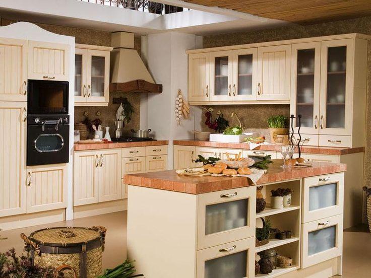 Muebles de cocina rústicos. Si querés incorporar el campo y la naturaleza a tu cocina, tu mejor opción son los muebles de cocina rústicos. Los colores típicos de este estilo son cálidos y neutros y tienen a la madera como su principal aliado.