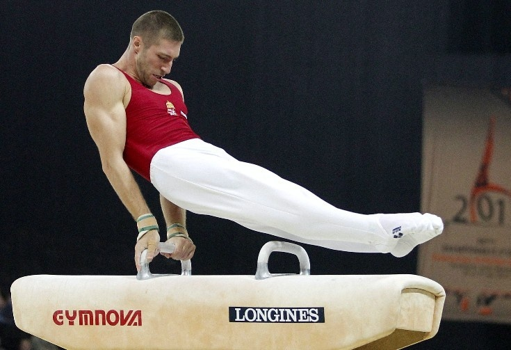 Krisztián Berki, gold medalist, Men's Pommel Horse, Olympic Games London 2012
