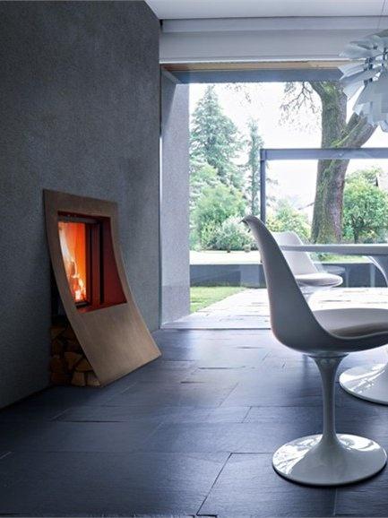 Fireplace Mantel GOYA by MCZ GROUP #fireplace #winter