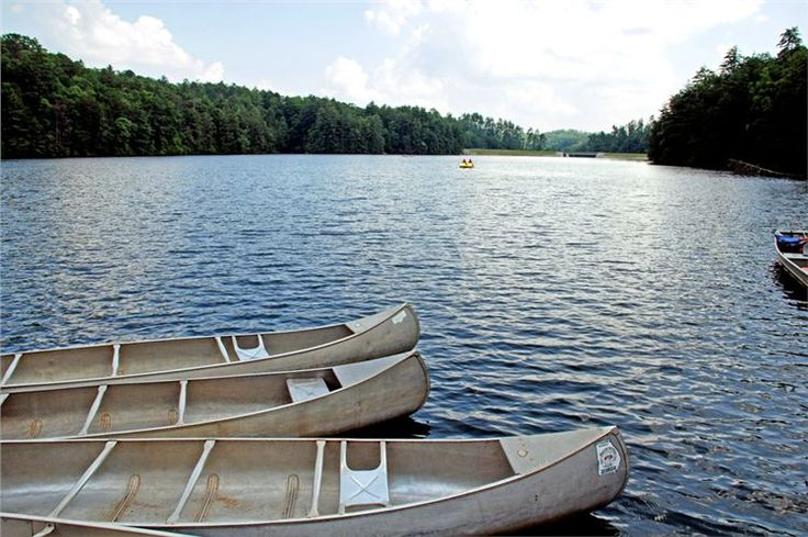 Unicoi State Park - Boating on Unicoi Lake