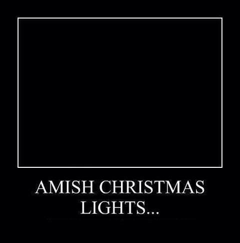 Amish Chirstmas Lights