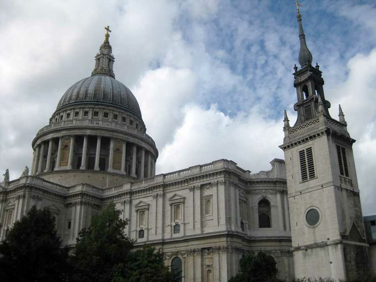 We KNOW we'll be going to St. Paul's because the wedding is there. Yep.