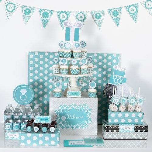 Something Blue Party Kit by Beau-coup