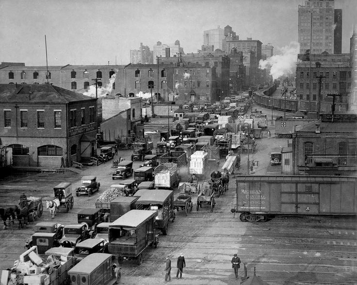 The New York Central & Hudson River Railroad Freight Depot - Google Search