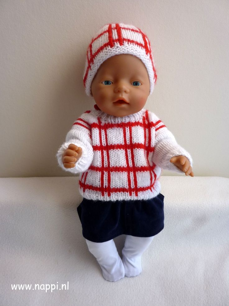 Winterkleding / Baby Born 43 cm | Nappi.nl Alles eigen ontwerp