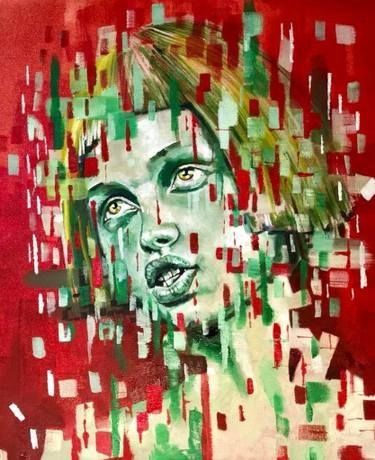 "Saatchi Art Artist Werner Smith; Painting, ""Dynamic Stasis # 3"" #art"