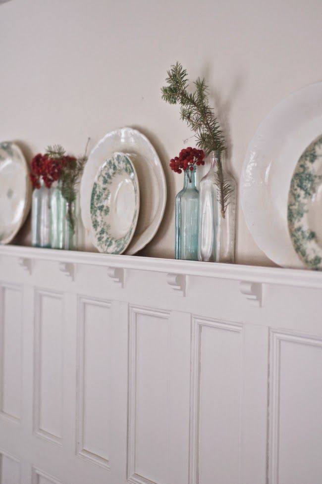 148 best plate rack display ideas images on pinterest for Craftsman picture rail
