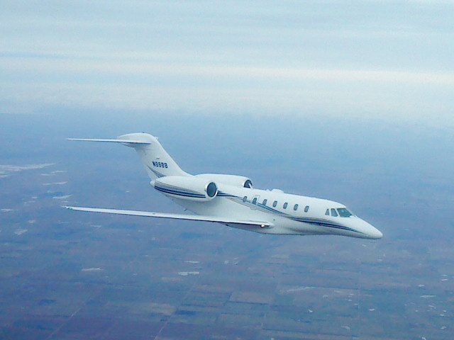 Citation X Flying With Us During A Test Planes Pinterest