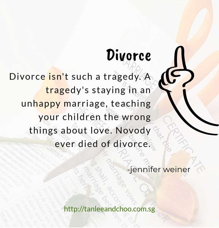 Divorce Quote divorce marriage family singapre quotes