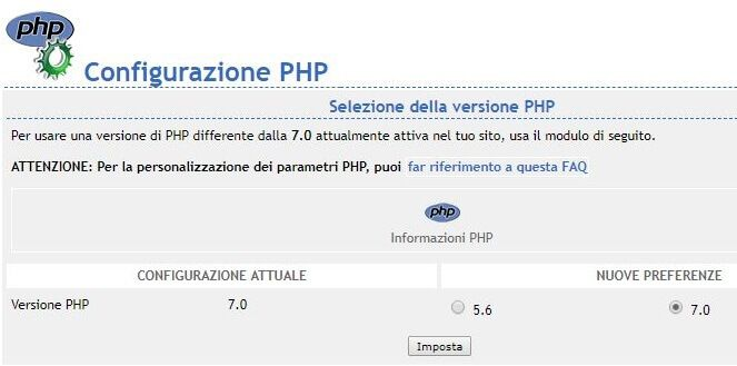 Come Passare A Php7 Con Tophost Http Www Offertalink It Wordpress Upgrade A Php Versione 7 Php Wordpress Attualita