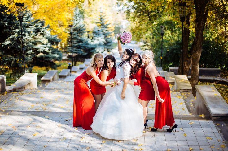 Подружки невесты в американском стиле
