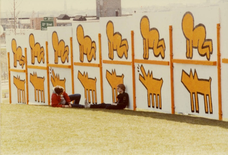 1000 images about keith haring on pinterest vinyls for Carrelage keith haring