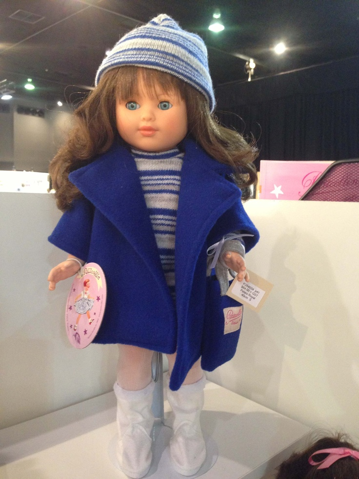 One of the beautiful new Petitcollin dolls