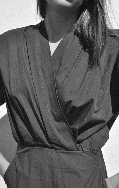 Anaïse / Apiece Apart Mina Gathered Wrap Dress