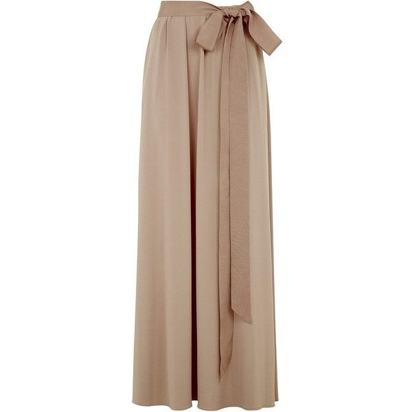 Lanvin Jersey Maxi Skirt found on Polyvore