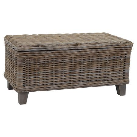 Rest Travel Magazines And Art Books On This Eye Catching Coffee Table Crafted From Rattan And
