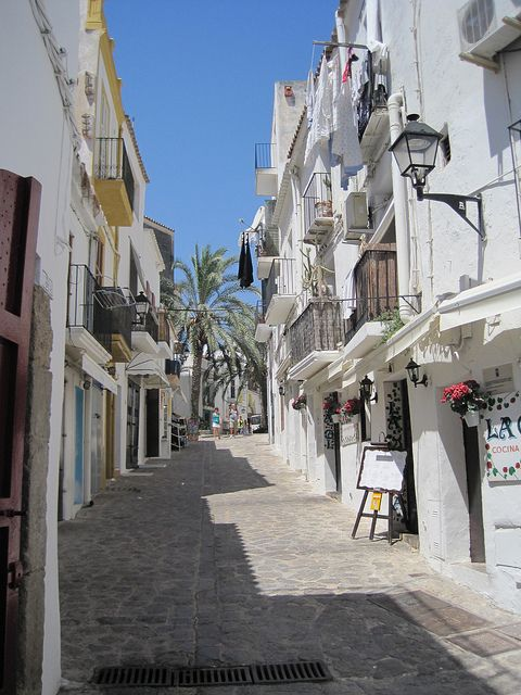 Dalt Vila, Ibiza. The Old Town.