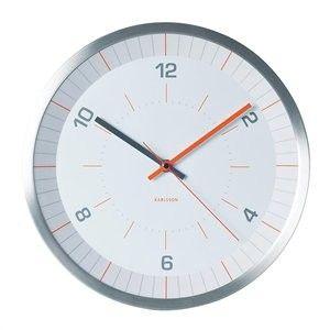 Karlsson Wall Clock Wall Clock Bright Line - Orange