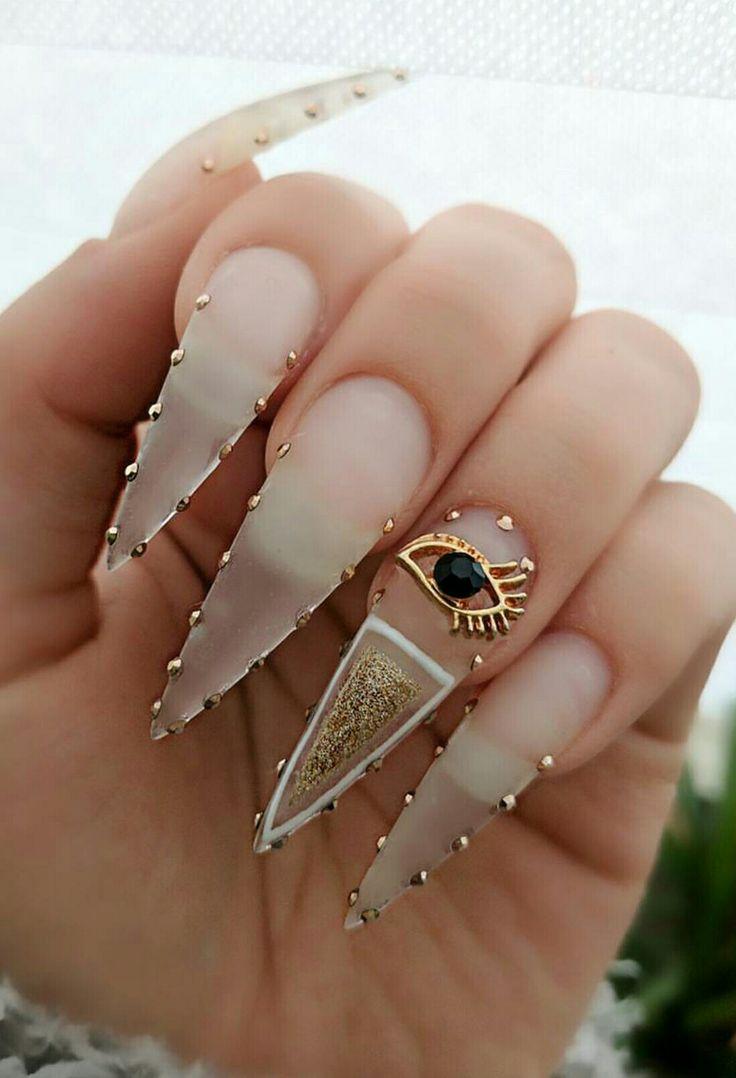 Goth, Crystal Nails, Dreams, Hair, Beauty, Nail Art - Best 25+ Crystal Nails Ideas On Pinterest Rhinestone Nails