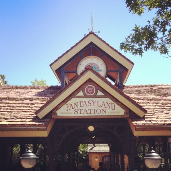 New Fantasyland Station at Walt Disney World