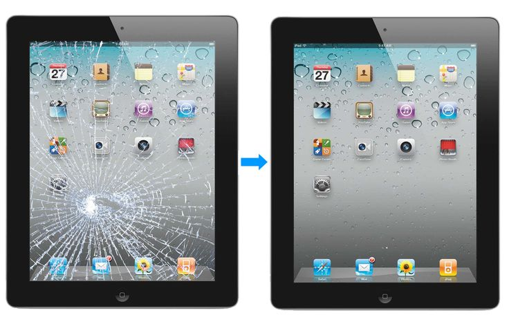 Is Your Ipad Lcd Screen Damaged Or Touch Screen Cracked