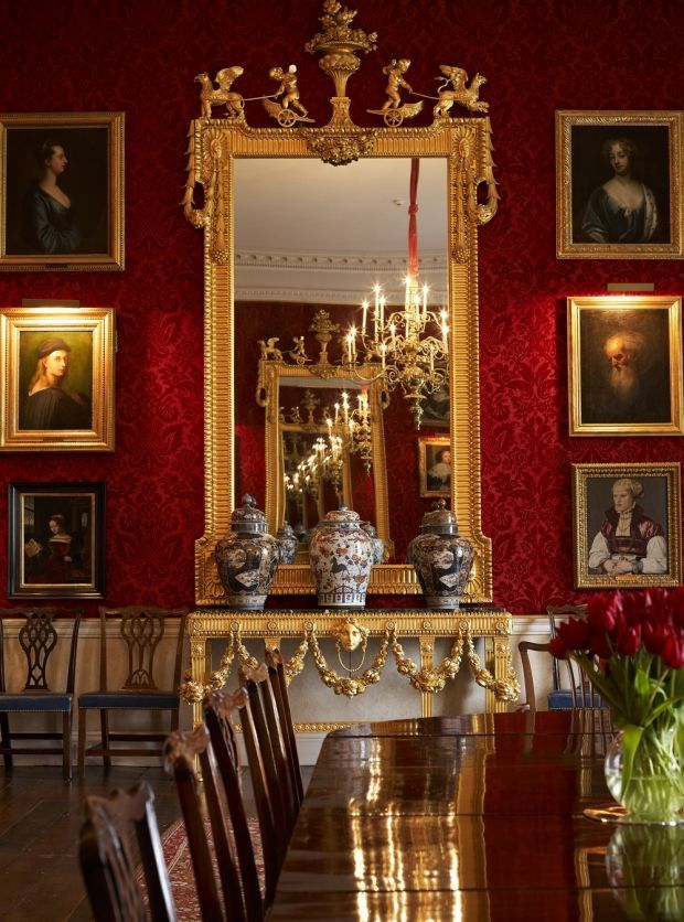 The Great Room Althorp Northamptonshire England Is A Country Estate Of About Acres Square Km And Grade I Listed Stately Home