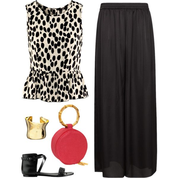 """Plazzo Pants"" by fiftynotfrumpy on Polyvore"